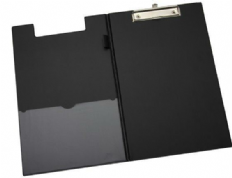 5 Star Office Fold-Over Clipboard with Front Pocket
